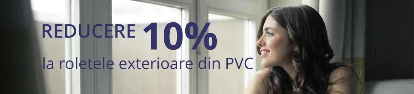 Reducere 10% la rulouri exterioare din PVC