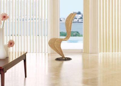 Jaluzele interioare din textil - verticale